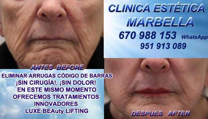 código de barras Frontera:En la CLINICA ESTÉTICA MARBELLA te proponemos la alta calidad de, nuestra asistencia Marbella o Frontera