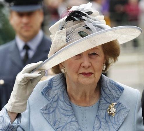 「鉄の女」マーガレット・サッチャー元イギリス首相