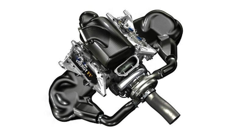 2014年F1用ルノーエンジン