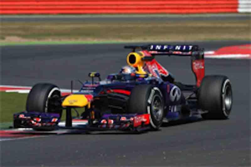 2013年F1イギリス若手ドライバーテスト3日目