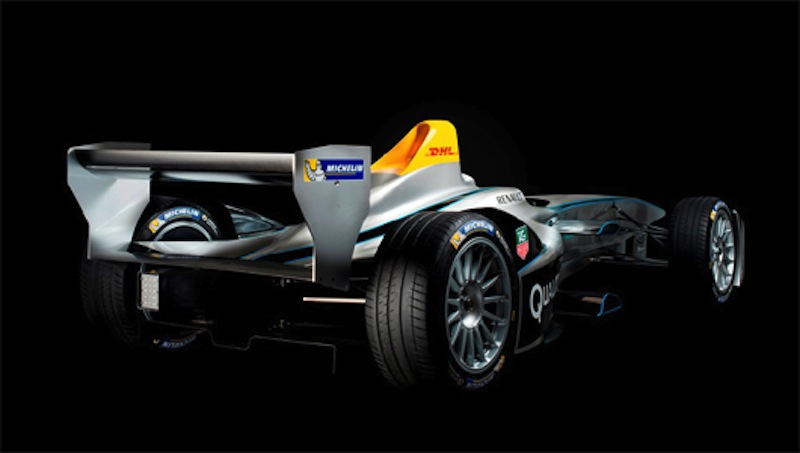 Spark-Renault SRT 01E 斜め後ろ
