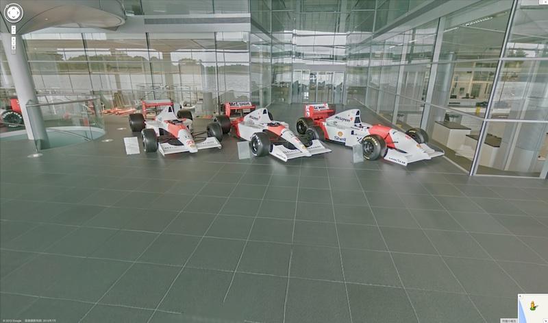 Google ストリートビュー : McLaren Technology Centre