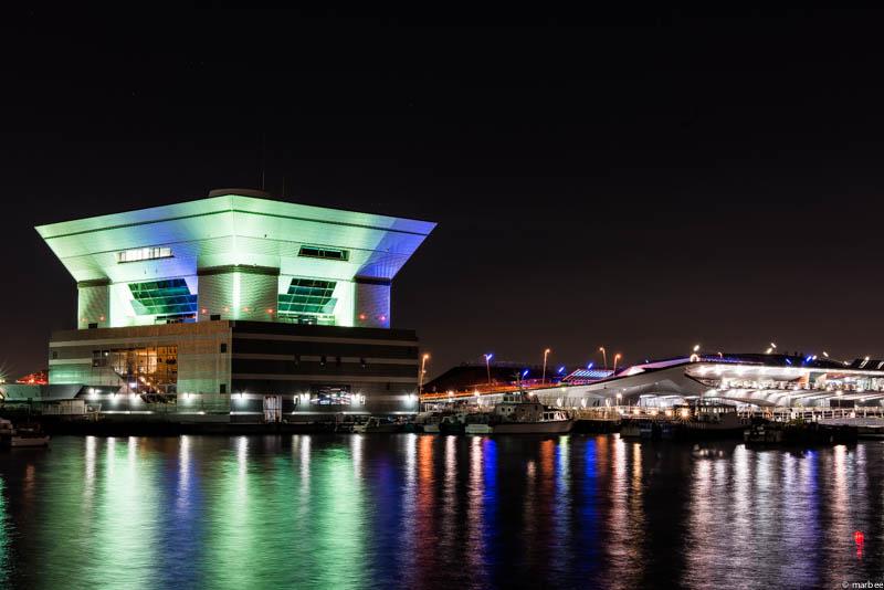 大さん橋入り口の夜景