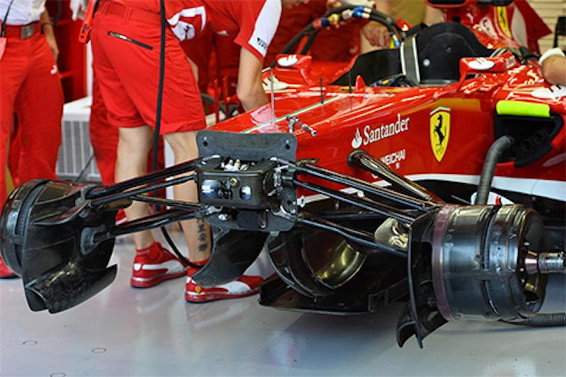 フェラーリ プルロッド式サスペンションを断念