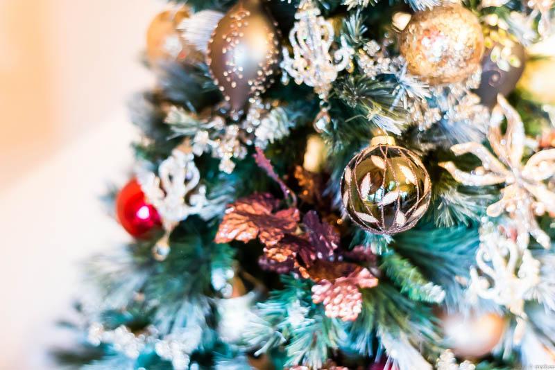 イギリス館 クリスマスの飾り付け