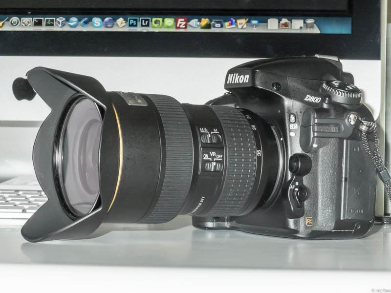 D800 + D800 広角ズームレンズ 買い直し AF-S NIKKOR 16-35mm f/4G ED VR