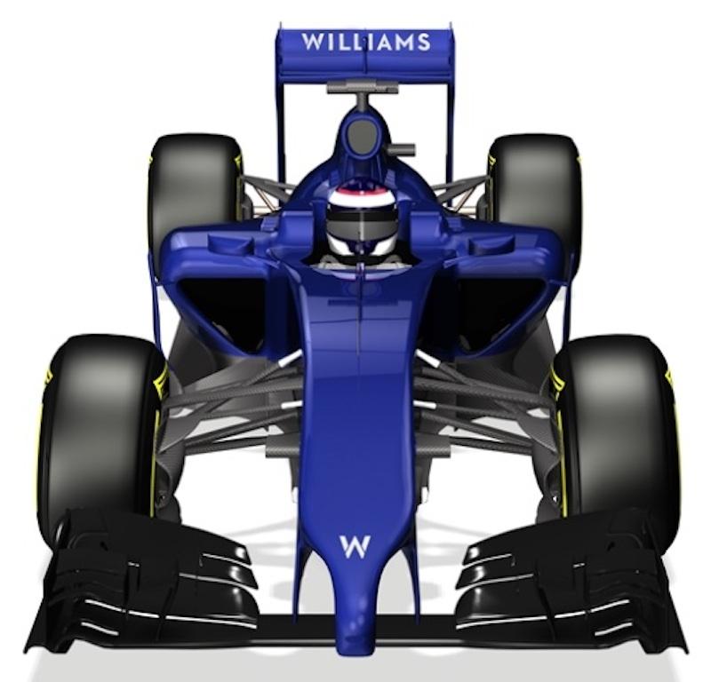 ウィリアムズ FW36 上面