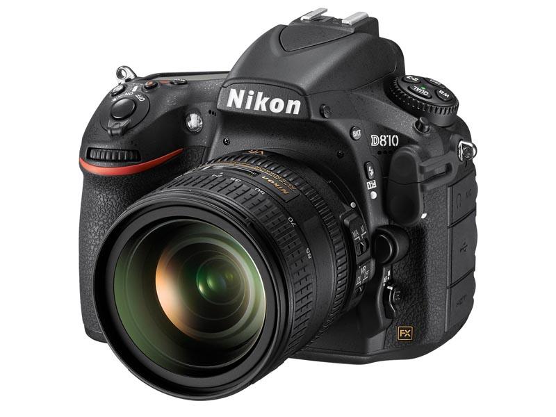 Nikon D810 正面