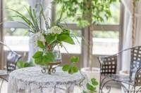 花瓶とテーブル
