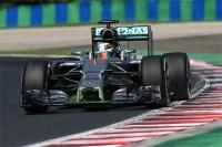 F1ハンガリーGP フリー走行2回目:ルイス・ハミルトンがトップタイム