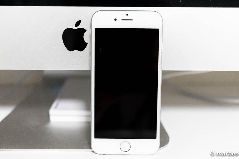 iPhone6 シルバー 正面
