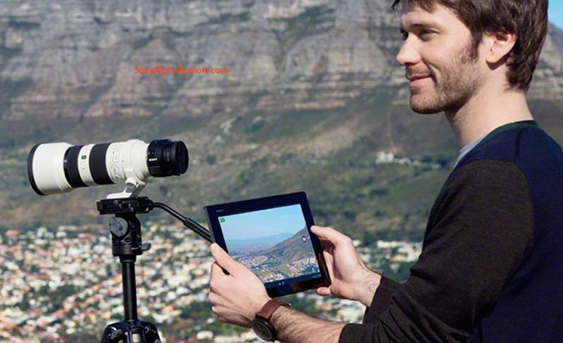 SONY QX1 Eマウントカメラ 三脚 流出画像
