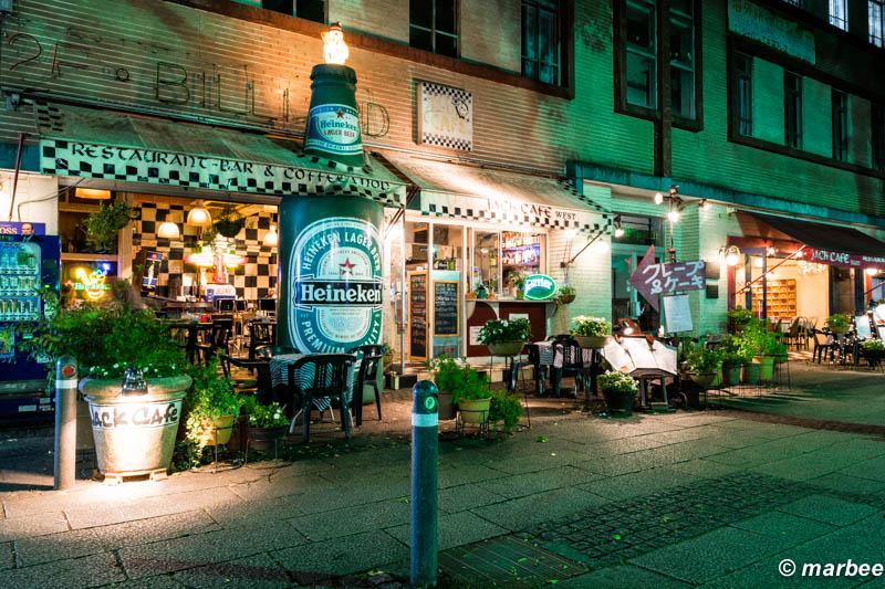 Jack Cafe 夜景