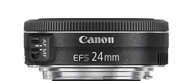 Canon EF-S 24mm F2.8 STM 流出画像