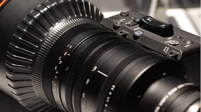 Canon 8Kレンズ プロトタイプ