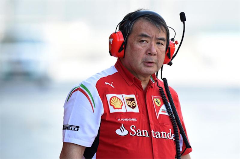 浜島裕英、フェラーリを離脱