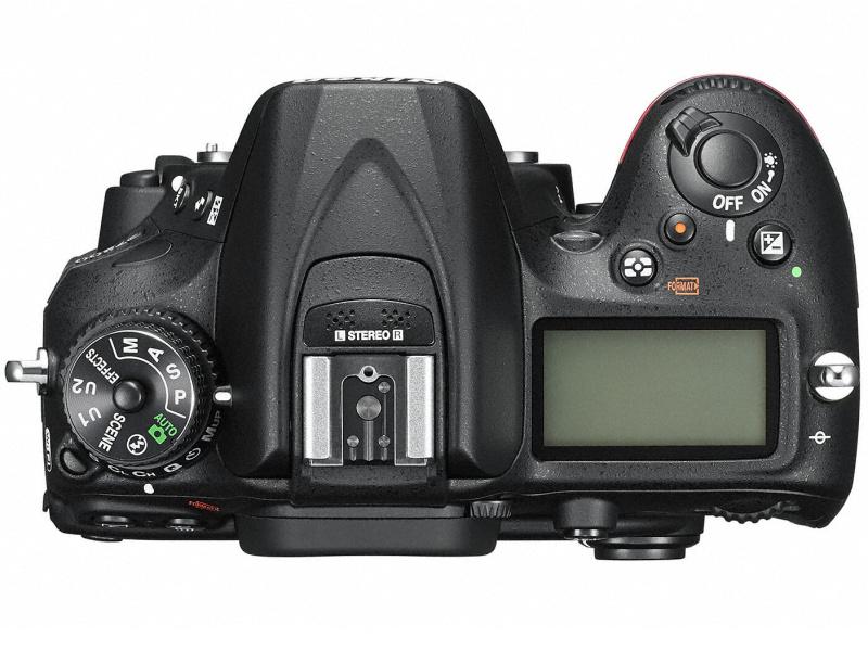 Nikon D7200 上面
