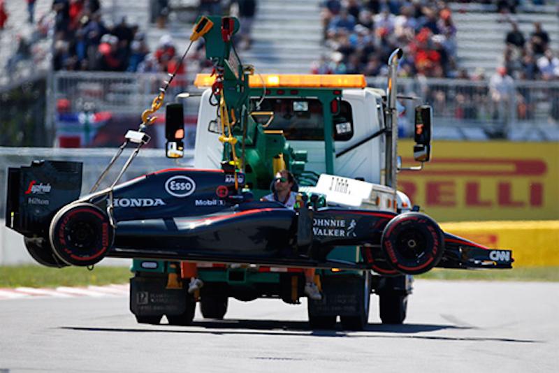 ジェンソン・バトン、ERS関連のトラブルで予選を欠場 : F1カナダGP
