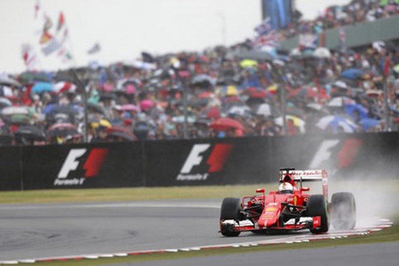 F1 2015 イギリス 決勝