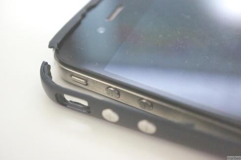 iPhone4無償Bumper壊れた。