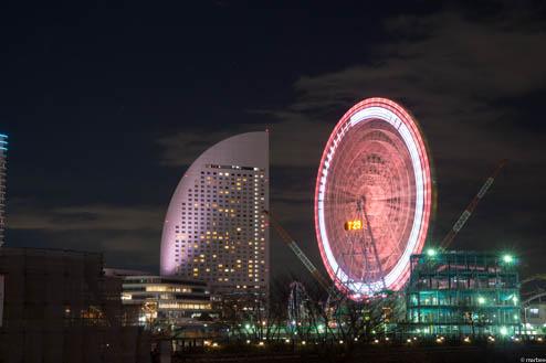 横浜の夜景