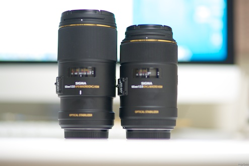 SIGMA_MACRO_105mmF2.8_EX_DG_OS_HSMとSIGMA_APO_MACRO_150mm_F2.8_EX_DG_OS_HSMの比較