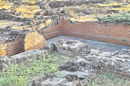 赤レンガ倉庫の遺跡