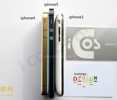 iphone5の薄さ