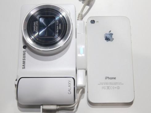 GALAXYCameraiPhone4Sとの比較