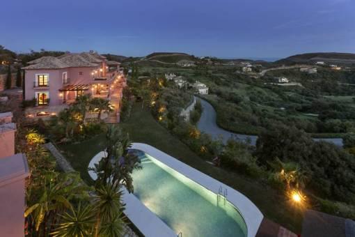 Большой тосканский стиль Вилла для продажи – 3,950,000 евро