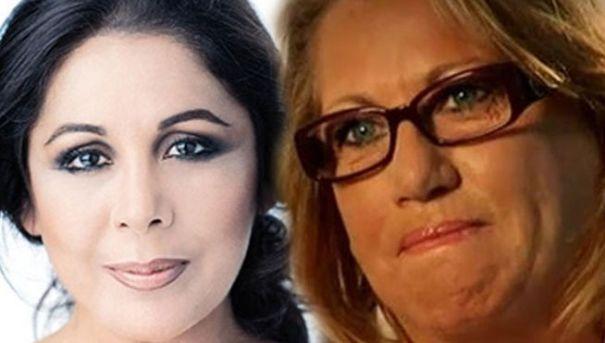 Fotomontaje con los rostros de Isabel Pantoja y Maite Zaldívar