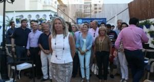 La presidenta del PP de Marbella, Ángeles Muñoz, tras ser propuesta como candidata este martes