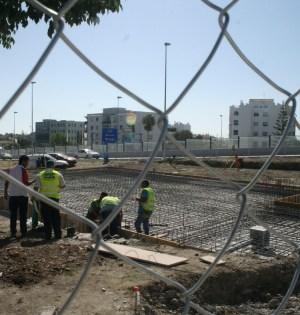 Imagen de archivo del comienzo de las obras de la terminal de San Pedro