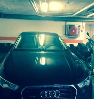 Imagen del nuevo Audi A6 tomada el 28 de octubre. Foto/marbellaconfidencial