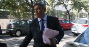 El concejal de Urbanismo, Pablo Moro, tras declarar ante el juez del caso Funky Buddha FOTO: marbellaconfidencial