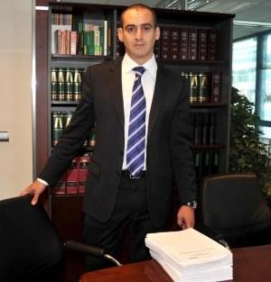 El abogado Antonio Flores en imagen de archivo, durante una rueda de prensa