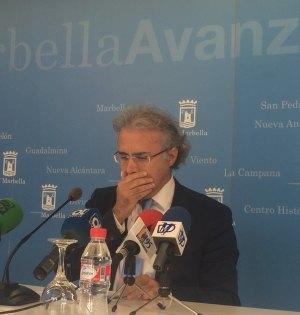 El concejal delegado de Turismo, José Luis Hernández, en imagen de archivo. Foto/ marbellaconfidencial.es