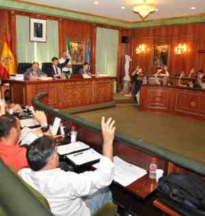 Votación unánime en el pleno del Ayuntamiento de Marbella este viernes. Foto/ Marbella Imagen