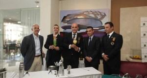 Imagen de la presentación de los cócteles celebrada este miércoles en el Hotel El Fuerte de Marbella.