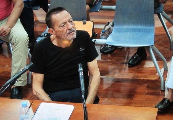 El exalcalde de Marbella Julián Muñoz cuando prestó declaración durante el juicio por el 'caso Fergocon, en la Audiencia de Málaga. Foto/ Europa Press