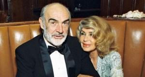 El actor Sean Connery junto a su mujer, Micheline, en una imagen de archivo