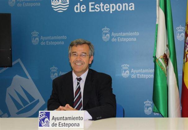 El alcalde de Estepona y número 1 del PP al Congreso por Málaga, José María García Urbano. Foto/ Europa Press