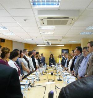 La Asamblea de la Mancomunidad celebrada este jueves en Marbella. Foto/ Europa Press
