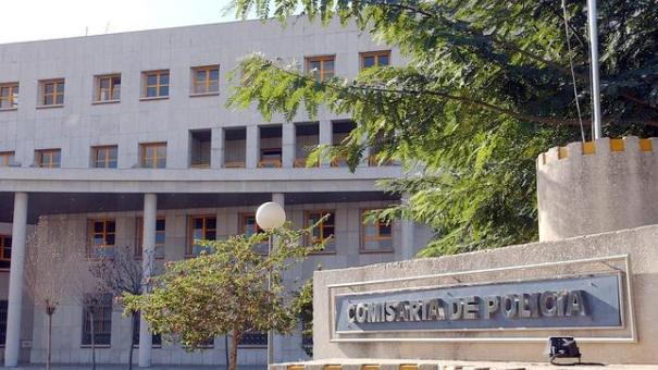 Imagen de la Comisaría provincial de Málaga, donde se encuentran los detenidos