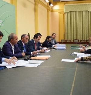 Imagen de la reunión del consorcio de La Cónsula. Foto/ Europa Press
