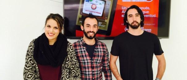 Dirigentes de Nuevas Generaciones de Marbella este lunes en rueda de prensa
