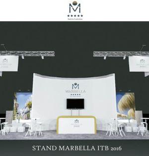 Imagen del stand de Marbella en la ITB de Berlín. Foto/ EP-Ayto