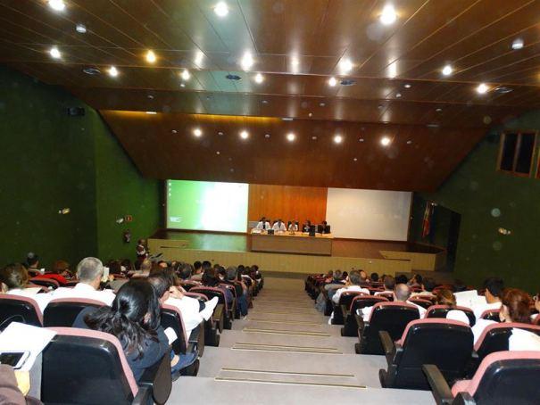 Imagen del salón de actos del Hospital Costa de Sol. Foto/ Europa Press