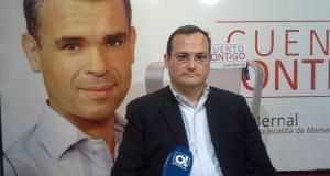 El abogado Jaime Olcina, exasesor jurídico del PSOE que fue también contratado en el Ayuntamiento de Marbella, durante una entrevista en imagen de archivo.