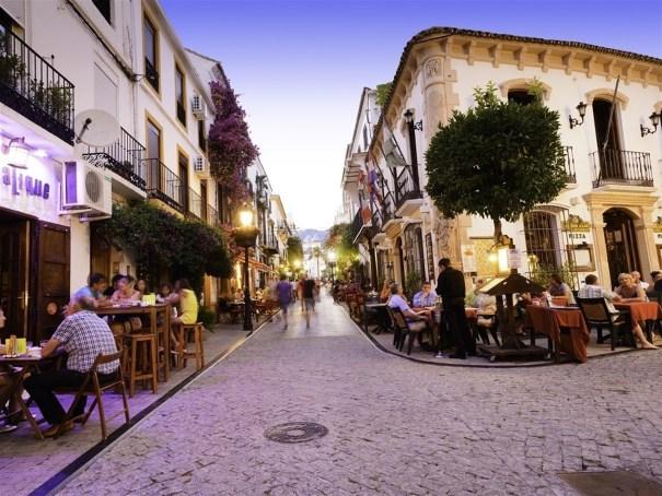 Imagen del Casco Antiguo de Marbella. FOTO/ EP